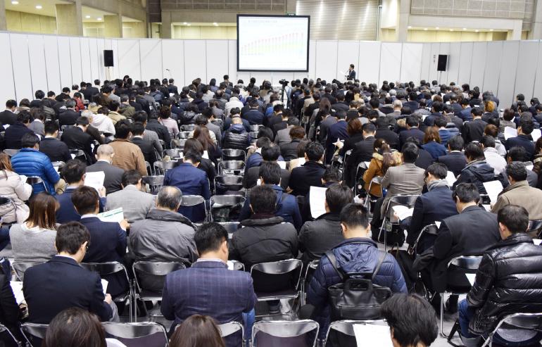 本業界の最新セミナー総計60セッション開催!