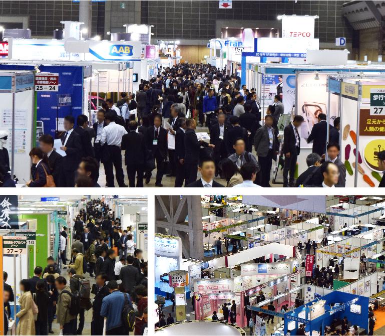 介護業界最大級 同時開催含め500社が出展する大規模展示会!